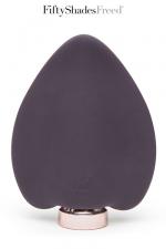 Stimulateur clitoridien - Fifty Shades Freed - Desire blooms est un vibromasseur rechargeable en silicone, spécialement créé pour la stimulation du clitoris.