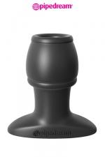 Open Wide Tunnel Plug - Plug anal traversé par un tunnel, en silicone haute qualité, 6,1 cm de longueur insérable par 3,7 cm de diamètre maxi.