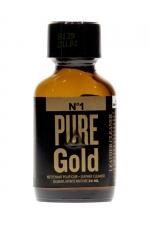Poppers Pure Gold 24ml : Poppers à base de nitrite d'amyle, ultra fort et ultra pur, pour des moments festifs intenses.