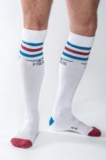 Chaussettes Mister B URBAN Gym blanches : Chaussettes de sport haute qualité, by Mister B (version blanche).